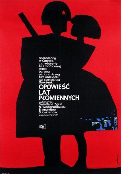 Film poster by Wiktor Gorka, 1963