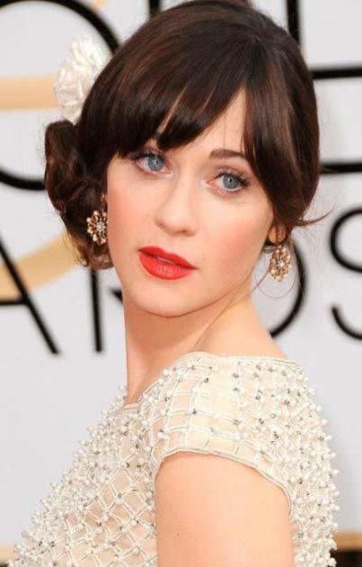 Bridal Hairstyles With Bangs Fringes Side Buns 54 Trendy Ideas