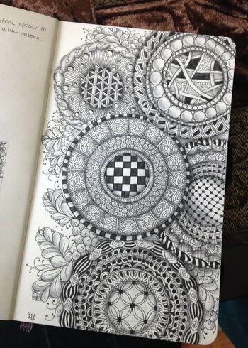 Zentangle Circles 2 - Gwen Lafleur
