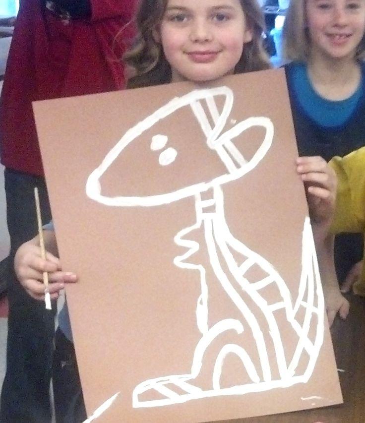 Art with Mrs. Seitz: Australian Kangaroos