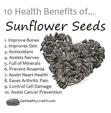 sunflower seeds benefits - Google Search