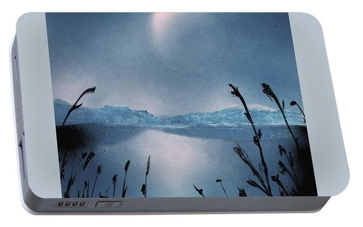 Printed with Fine Art spray painting image Moon Fog by Nandor Molnar (When you visit the Shop, change the orientation, background color and image size as you wish)
