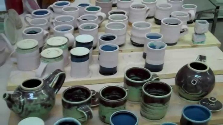 This is a short video on how to reglaze and refire pottery.