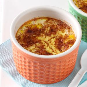 Baked Custard: looks just like the one my mom made me when I was a kid. I added a tsp of vanilla to the recipe.