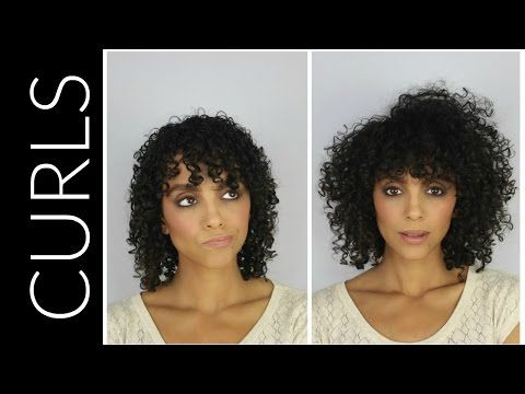 how to make thin curly hair look thicker