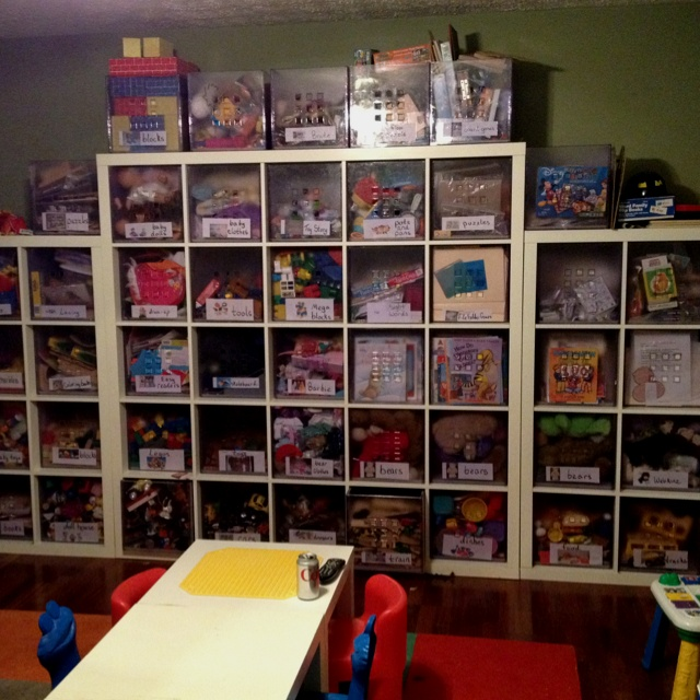 IKEA Expedit units used for home child care/preschool: Expedition, Daycare Inspirations, Daycare Idea, Childcare Idea, Care Centers, Daycare Preschool Sets, Care Preschool Mi, Homes Daycare, Child Care Preschool