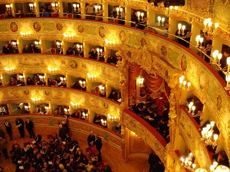 Teatro La Fenice, Venice.  Foto: Lillemor Brink