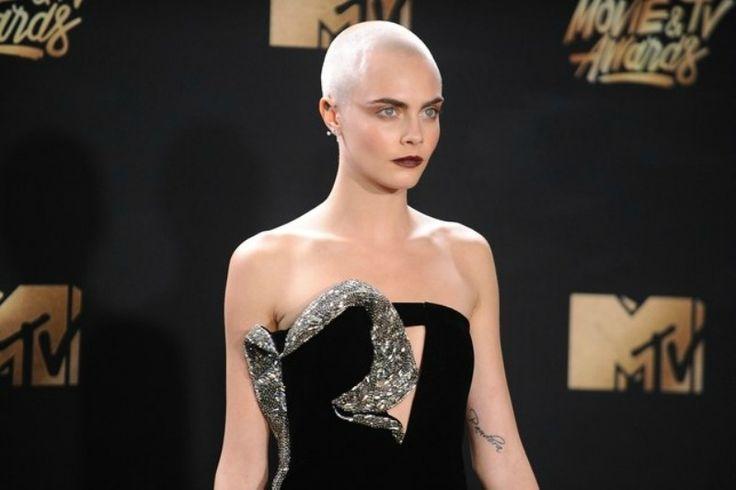 Cabeza Rapada Peinados Para Estar A La Moda En 2018 //  #2018 #Cabeza #Estar #moda #para #Peinados #Rapada