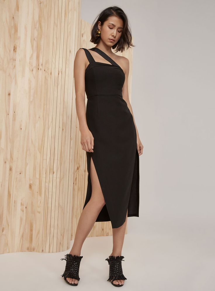 C/MEO Collective Bound Together Dress – Black