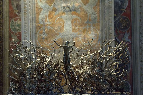 """La Resurrezione (""""The Resurrection"""") by Pericle Fazzini in Vatican Museum"""