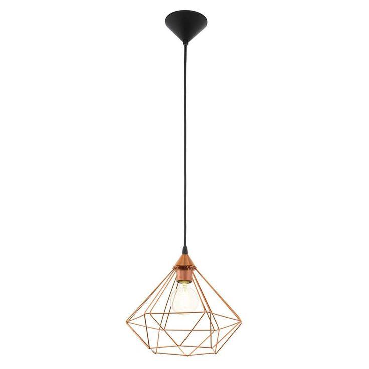 EGLO hanglamp Tarbes 1 - koperkleurig | Leen Bakker