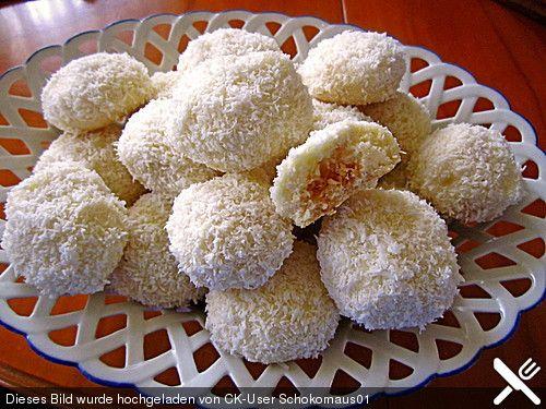 Kokosschneebällchen, ein beliebtes Rezept aus der Kategorie Kekse & Plätzchen. Bewertungen: 3. Durchschnitt: Ø 4,0.