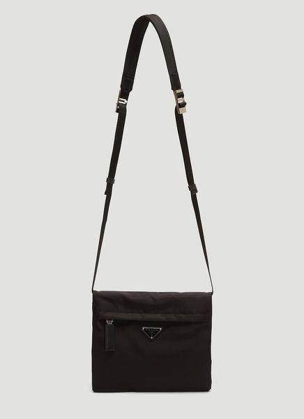 4cae610b1e8a PRADA NYLON MESSENGER BAG IN BLACK. #prada #bags #shoulder bags #leather # nylon
