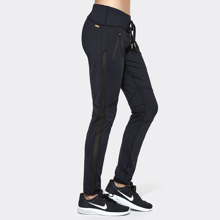 Fast Track Pant in Black, {View 1} | Alala | Luxury Women's Activewear | Style meets Sport