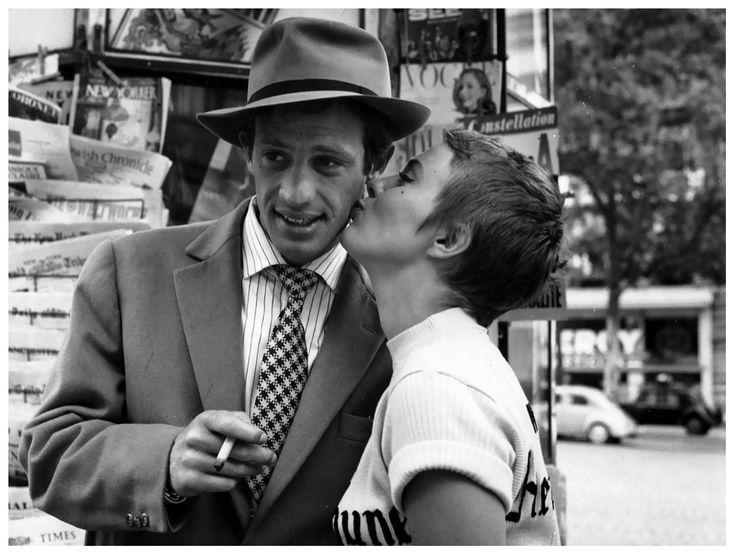 A bout de souffle. Set photographer: Raymond Cauchetier