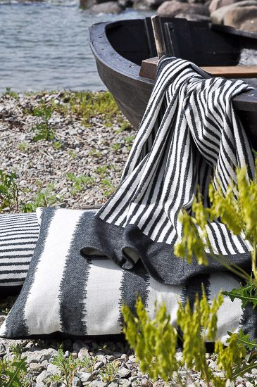 Blankets & Cushions from Kookon. 100 % ecological, made in Sweden. To use and love!