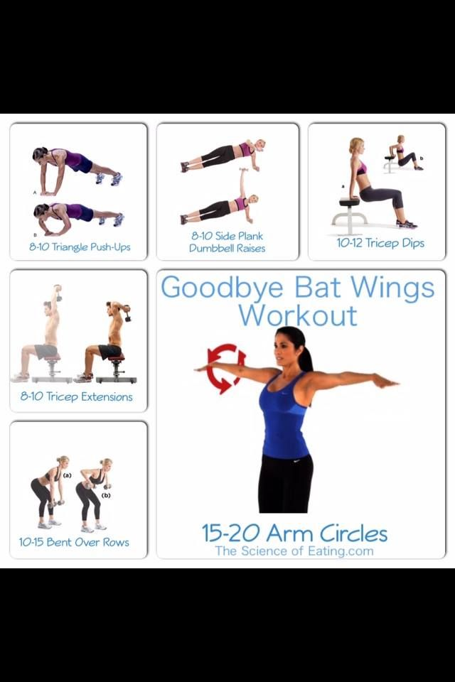 Bat wing workout