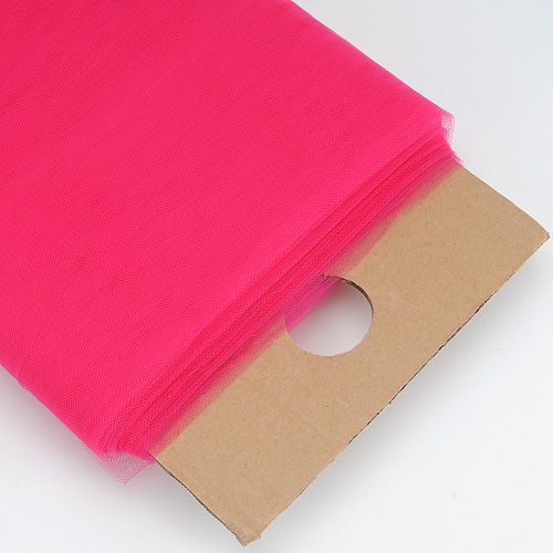 Fuchsia Premium Glimmer Tulle Fabric 6 inch & 54 inch sizes and superior quality products at inexpensive prices - fuzzy fabric
