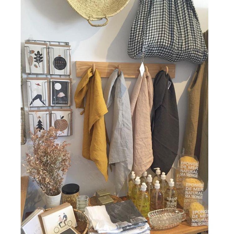Linge particulier + Compagnie de Provence + Michoucas Design