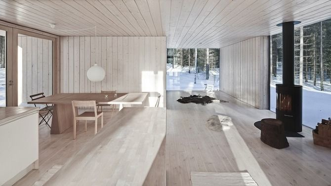 Avanto Architects Four-Cornered Villa Virrat Finland 2010