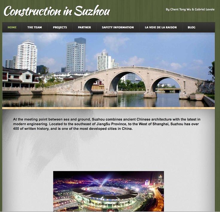 Cheng-Tong Wu et Gabriel Lavoie - Sécurité sur les chantiers et matériaux de construction en génie civil : comparaison entre Shu-Zou et Montréal - Shu-Zou - République populaire de Chine