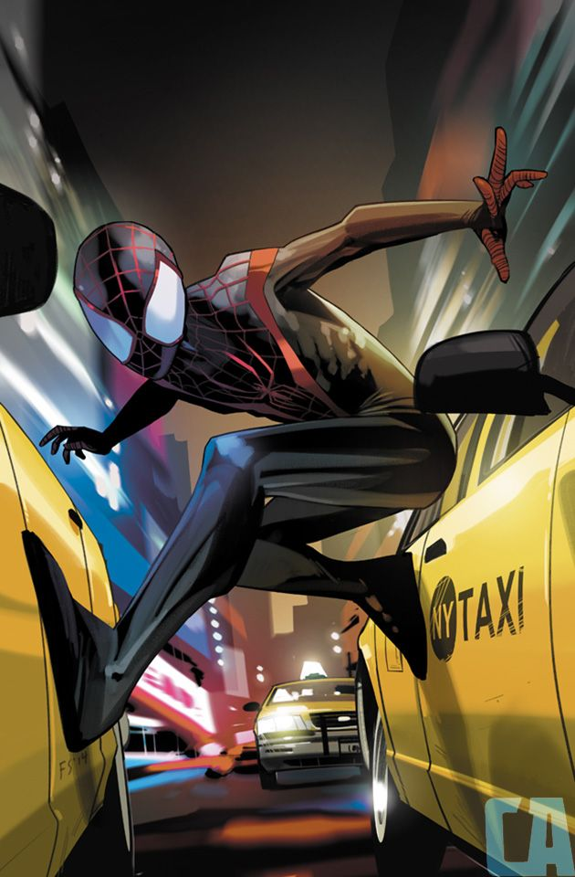 Fiona Staples Covers 'Miles Morales: Ultimate Spider-Man' #1