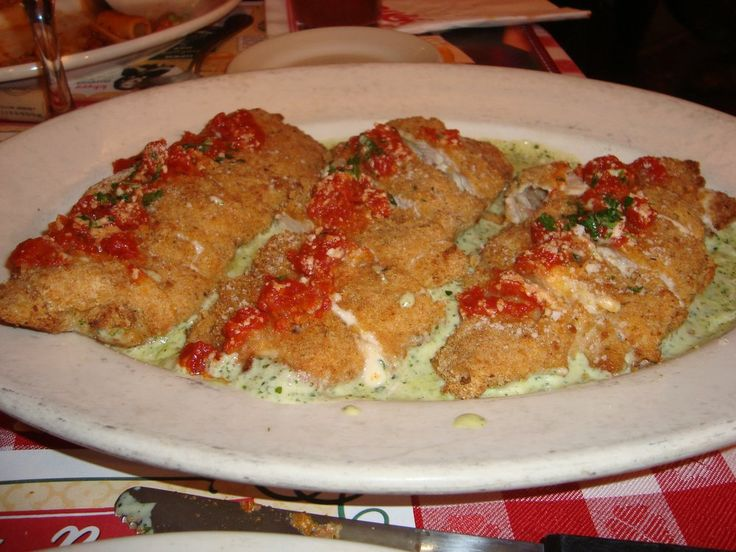 Cant wait to try to make this tonight!! (Buca di Beppo Copycat Recipes: Prosciutto Stuffed Chicken)
