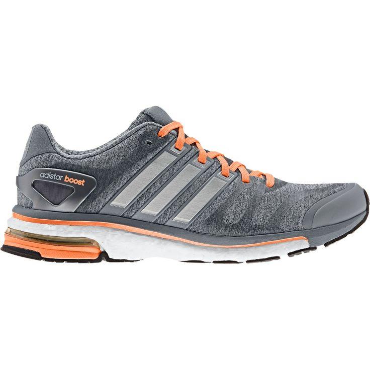 DundeeRunners.co.uk adidas adistar Boost Women's Running Shoes Grey Orange |