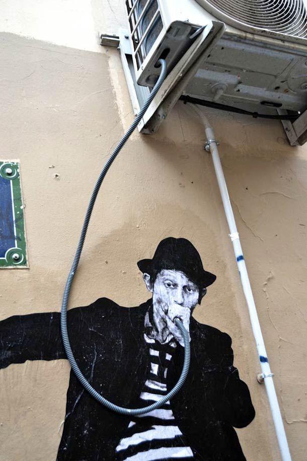 23 street arts parfaitement intégrés avec la rue