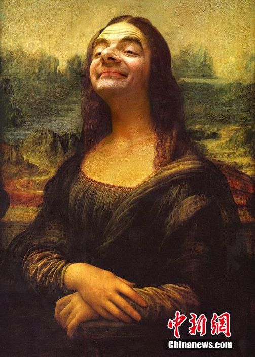 Mr Bean in world famous paintings