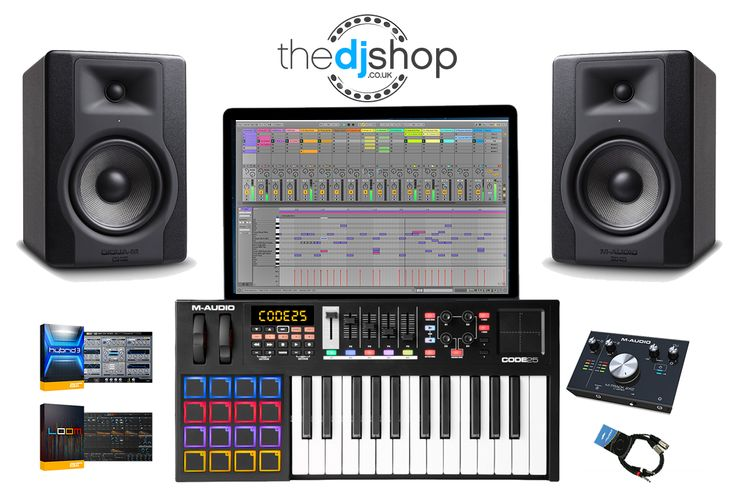 Kickstart your music production journey with M-Audio...