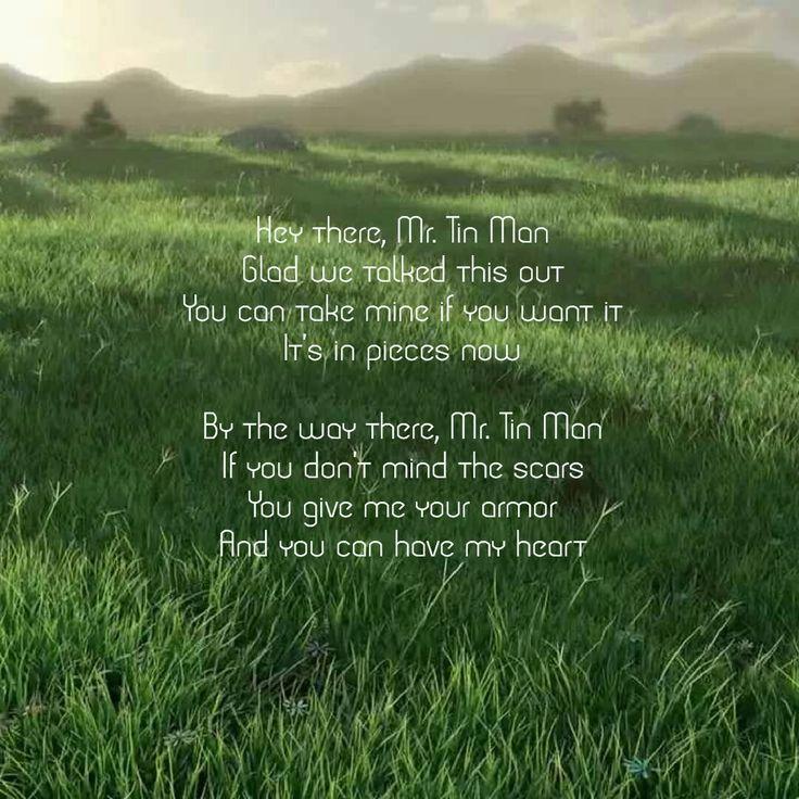 Love this song, Mr. Tin Man by miranda lambert