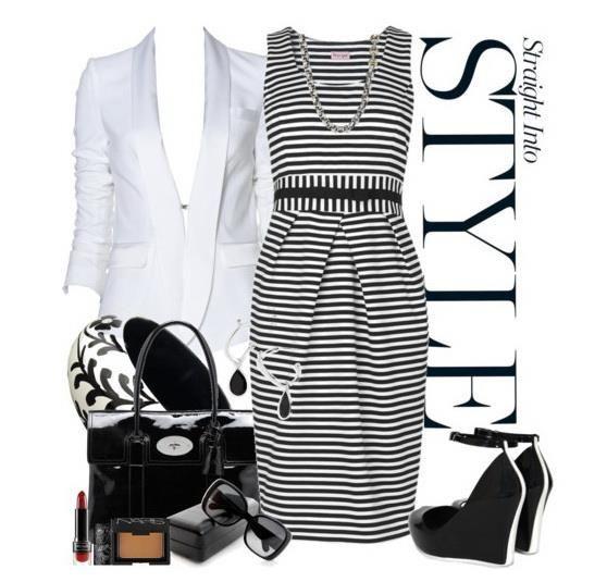 Платье черно белая полоска зебра