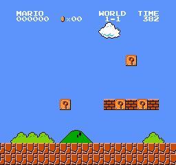 Super Mario Bros Screen Shots