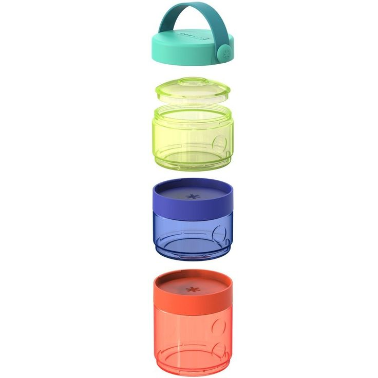 Go Baby formula-to-food container set | Skip Hop. I LOVE this to use for sending her lunch and snack to the sitters.