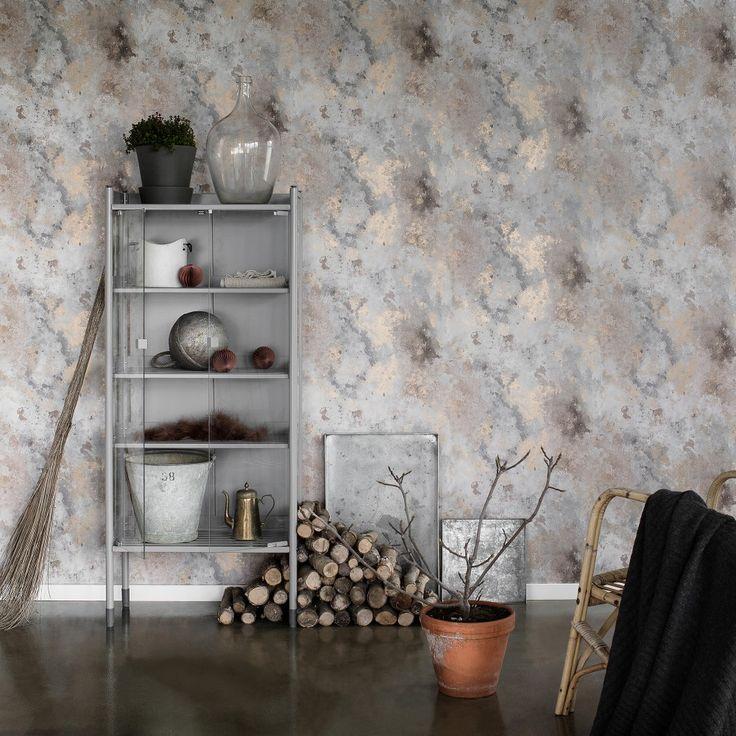 Wallpaper Rost by Sandberg