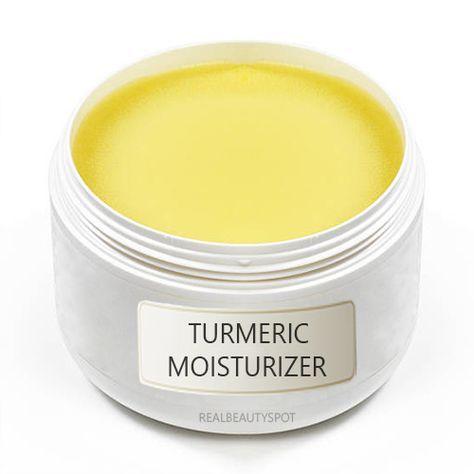 Turmeric homemade moisturizer