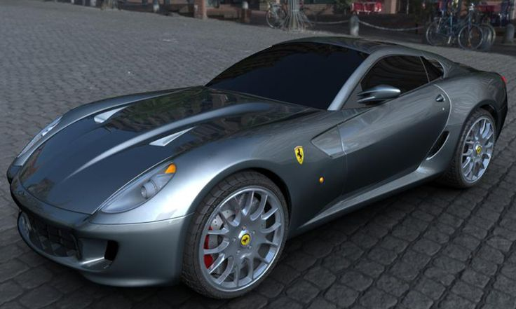 Ferrari 599 GTB - Render - 3D Graphic Software: Maya - V-Ray