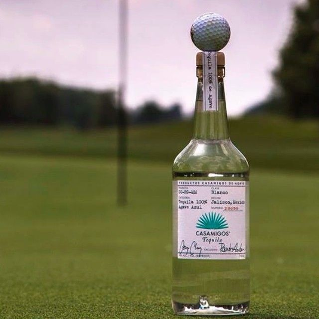 Improving our Golf Handicap. Casamigos Tequila Tee. Hole in One.