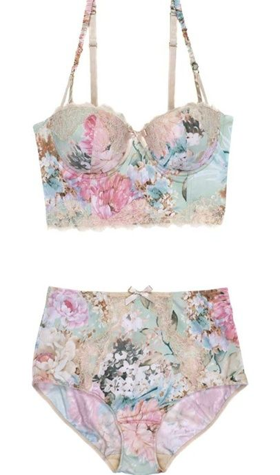 Pastels that are cute for lounging by the pool.