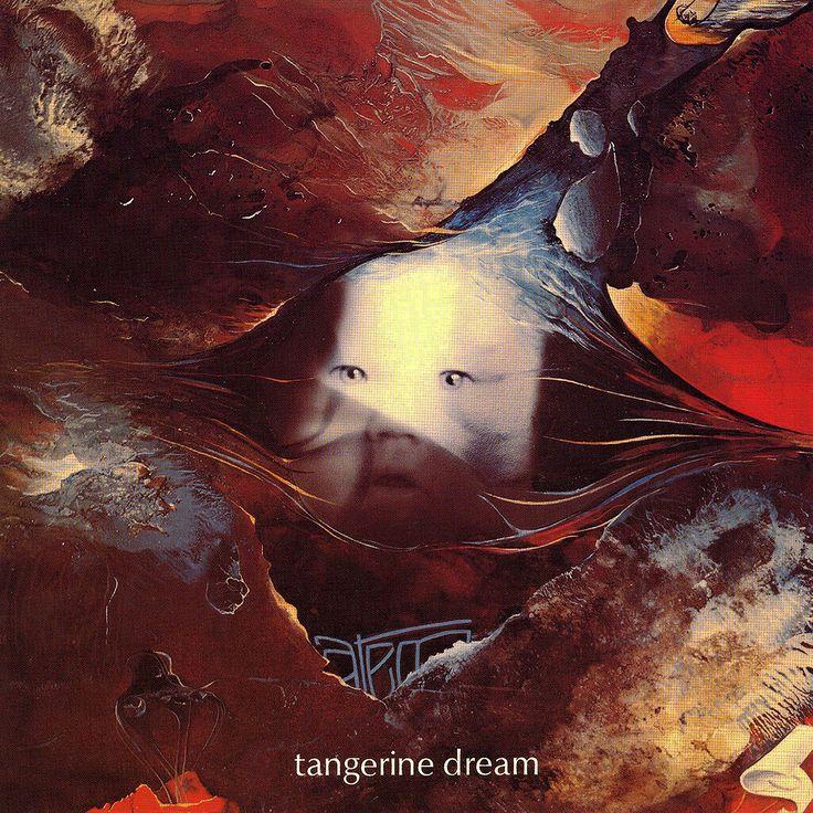 Tangerine Dream - Atem, 1973. Cover by Edgar Froese.