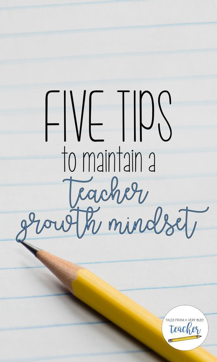 Being a teacher is hard, but keeping a growth mindset will help you keep your sanity. Read about five ways to keep a growth mindset as a teacher.