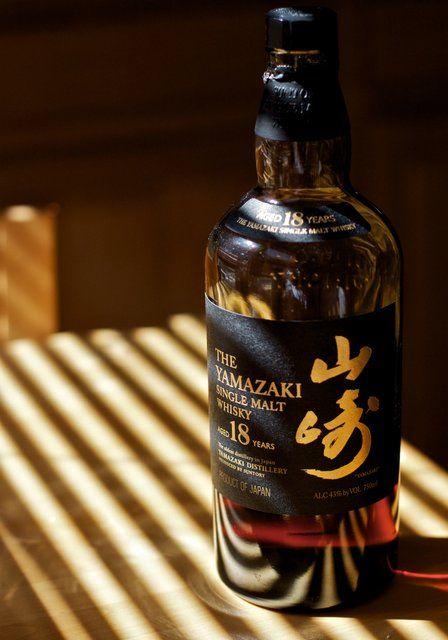 Suntory Yamazaki 18 year old Japanese Single Malt Whiskey