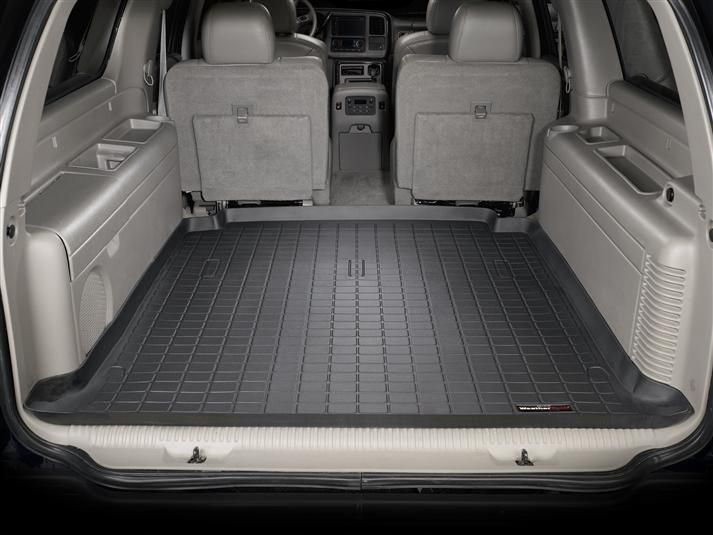 2004 Gmc Yukon Xl Yukon Denali Xl Weathertech Custom Cargo And Trunk Liners Cargo Mat