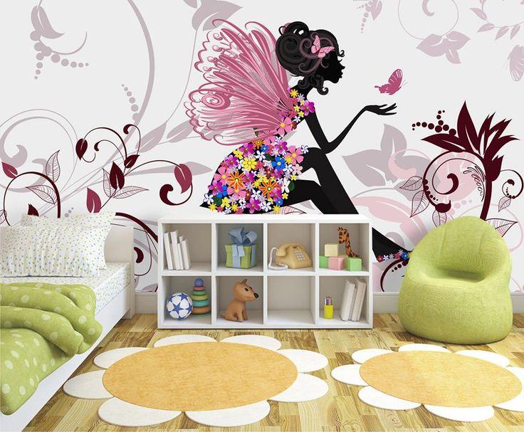 A co myślicie o takim pokoju dla dziewczynki? http://www.fototapeta24.pl/getMediaData.php?id=41865317 #fototapeta #decor #homedecor #obraz #aranżacjawnętrz #wystrójwnętrz