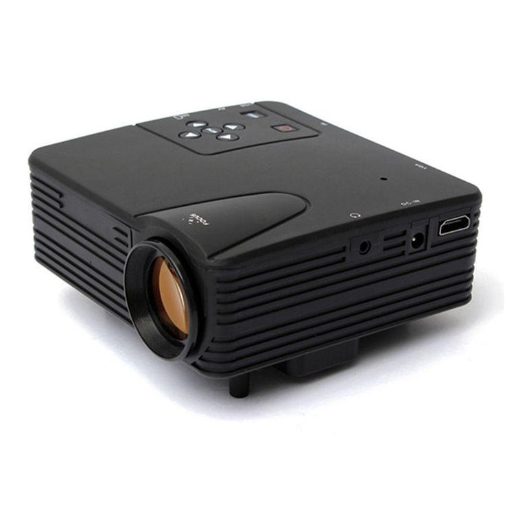 2016 новые портативные домашний кинотеатр мультимедиа для видеоигр тв из светодиодов жк-проектор HD 1080 P пк av-тв VGA USB микро-hdmi