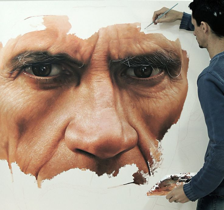 Hyper Realistic Painting oil on canvas by Millani by fabianoMillani on DeviantArt