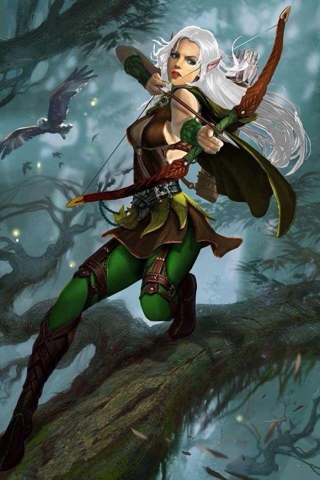 296 Best ART FANTASY Elves Images On Pinterest