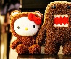 Hello Kitty & Domo - True Love...