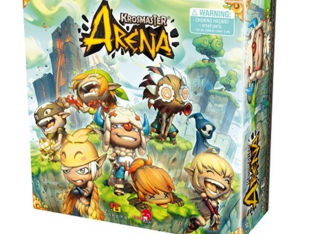 Krosmaster Arena Anime Miniatures Board Game by Japanime Games, via Kickstarter.